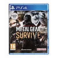 Jeu Metal Gear Survive + Pack Survie / Playstation PS4 KONAMI / Neuf ss Blister