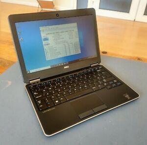 Dell Latitude E7240 i5-4310U 2Ghz, 8GB Ram 128GB MSATA SSD. Win 10 install +PSU