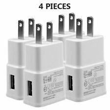 4x USB AC Wall Power Adapter Travel Chargers for Samsung Galaxy S S4 S5 NOTE 2 3