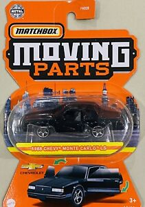 Matchbox moving parts 1988 Chevy Monte Carlo LS Black 2021 new Release