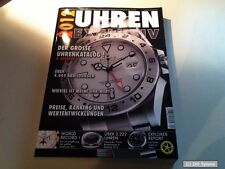 Uhren Exclusiv 2012 Der große Uhrenkatalog mit über 4.444 Abbildungen, NEUW.