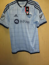 Nwt Sporting Kansas City Short Sleeve Authentic Jersey Adidas Retail $150
