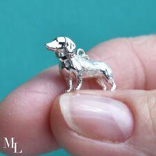 Sterling Silver Dachshund Dog Jewellery Charm