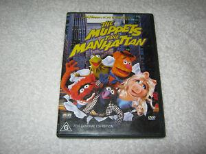 The Muppets Take Manhattan - VGC - DVD - R4