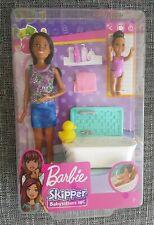 Barbie Skipper Baby sitters INC Bath Time Doll. Brand NEW & SEALED!!