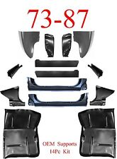 OEM 73 87 Extended Chevy 14Pc Cab Repair Kit X-Rocker Giant Cab Corner Footwell