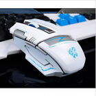 2.4G Wireless Rechargeable 2400DPI 6 Button Optical Usb Ergonomic Gaming Mouse E