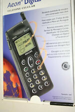 PHILIPS AEON 47 DIGITAL CELL PHONE FOR COLLECTORS YEAR 1998 CELL PHONE! NEW!!!!!