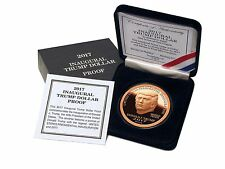 2017 Trump Dollar Inaugural 1 oz .999 Copper $5 Norfed Proof Round Coin