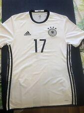 Adidas Germany Soccer Jersey Medium #17