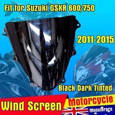 Motorcycle Windshield Windscreen Suzuki GSXR 600 750 2011 - 2015 2012 2013 2014