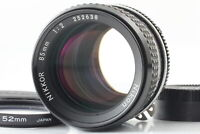 [MINT]  Nikon Nikkor Ai 85mm f/2 Manual Focus MF Prime From JAPAN #500