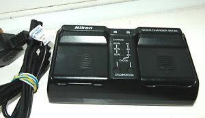 Genuine Nikon MH-22 dual Quick Charger for D2H, D2X, D3, D3S, D3X (EN-EL4 batt)