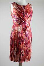 ❤ Monsoon Elegant Sleeveless Cross Over Front Dress Size 16
