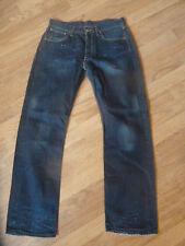 mens levi 501 distressed jeans - size 32/32 good condition