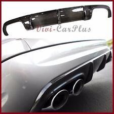 Rear Bumper Add-On Diffuser Carbon Fiber Fit 03-06 M Benz W211 E55AMG Sedan 4DR