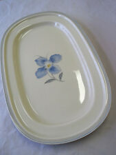 "Rosenthal Selb Germany Winifred ""Blaue Blume"" Flower PLATTE OVAL Ablage"