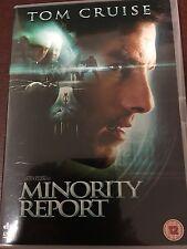 Minority Report DVD with Tom Cruise