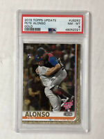PETE ALONSO 2019 Topps Update HR Derby GOLD SP RC /2019! PSA NM-MT 8! #US262!