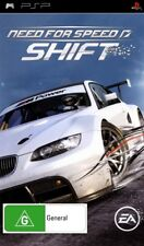 Need for Speed Shift Sony PlayStation Portable PSP Game Booklet PAL