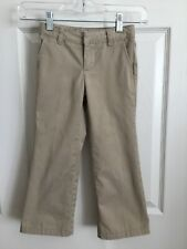 French Toast Little Boys Khaki Uniform Pants Size 6 Slim
