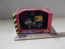 Mini Tonka Mighty Backhoe Series 1 Diecast Metal 1998 Maisto