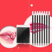50 X Lip Gloss Wands Einweg Lippenstift Pinsel Erweiterung Applicator~-