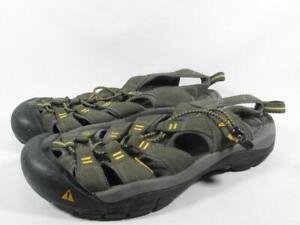 Keen Newport Water Sport Sandals Men Size 8.5 Olive Green