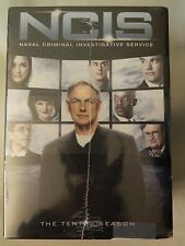 NCIS 10 SEASON DVD SET - NEW IN SEALED PLASTIC  - COMPLETE