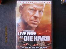 live free or die hard full screen edition dvd