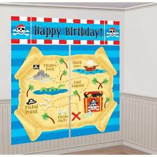 Party Supplies Decorations Boys  Birthday Pirate Scene Setter
