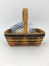 Longaberger 1997 Sweetheart Sweet Treats Basket Combo Blue Weave
