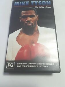 Mike Tyson The Fallen Warrior VHS Tape Free Postage