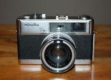 Minolta HI-MATIC 7s 35mm Camera w/Rokkor-PF 45mm 1:1.8
