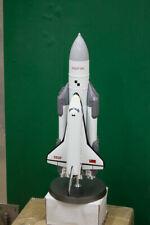"""Handmade Ussr Soviet space vehicle Shuttle """"Energia Buran"""" 1/144 Metal version"""