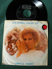 """ORNELLA VANONI: che barba amore mio - 7"""" DISCO PER L'ESTATE 1972 ARISTON 0544"""