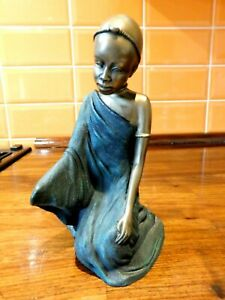 Soul Journeys Maasai Figurine - Njeri - Daughter Of A Warrior From 2000