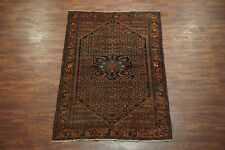 4X7 Antique Malayer Area Rug 1940's Hand-Knotted Wool Carpet (4.5 x 6.7)