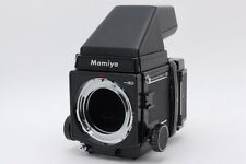 【Exc+++++】Mamiya RB67 Pro SD + 120 Film Back + Prism Finder From Japan #353