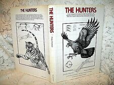 THE HUNTERS by PHILIP WHITFIELD~1978 MARSHALL EDITION HB/DJ~TOP PREDATORS~ILLUS