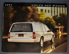 1997 Volvo 960 Station Wagon Catalog Sales Brochure Excellent Original 97