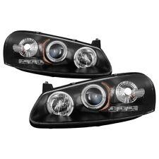 Spyder Black Projector Headlights LED Halo for Chrysler Sebring & Dodge Stratus