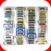 N Scale STOCK CAR, Cattle Car Variety lot - Atlas, Life-Like, Trix, Micro Trains