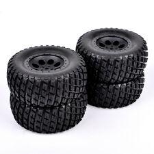 4X 1/10 Scale Tire Foam insert & Wheel RC Short Course Truck Off-road Argyle