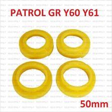 Nissan Patrol GR Y60 Y61 CALES BAGUES DE SUSPENSION RESSORT AVANT+ARRIÈRE 50MM