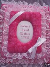 SWEET SIXTEEN 16  Custom Personalized Fabric Photo Album / Scrapbook - Handmade