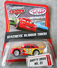 SHIFTY DRUG disney pixar cars nisb KMART EXCLUSIVE DAY #2 new #35 rubber tires