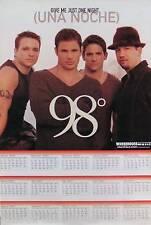 98 Degrees 2001 Una Noche Promo Calendar Original