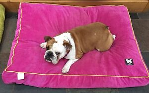 Mr Barker dog bed cushion bed pet bed available in 2 sizes and 3 colours