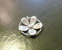 Grosser Silberanhänger Blume Jette Joop Europe 925er Sterling Silber 4,1 cm